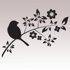 Maalattu lintu